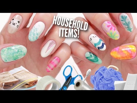 10 Nail Art Designs Using Household Items: The Ultimate Guide!