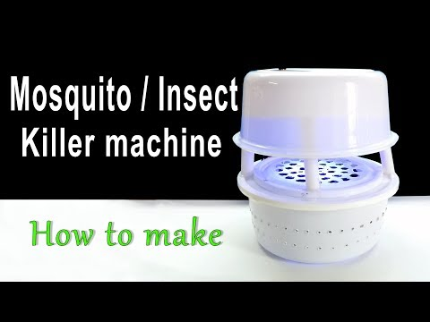 How to Make a Mosquito/Insect Killer machine at home