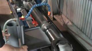 Heat straightening & balancing a Drive Line