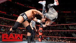 Enzo Amore vs. Big Cass: Raw, July 24, 2017
