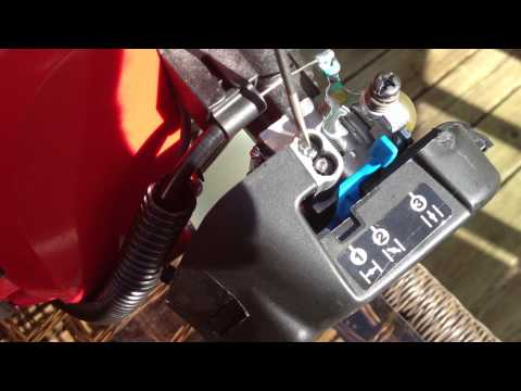 Troy bilt tb32 ec 2 cycle weed trimmer bogs down - Fix - trouble - Tune up