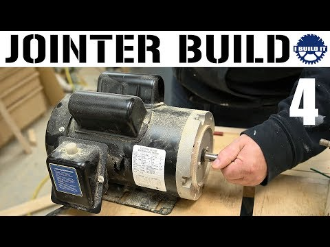 I'm Building A Jointer! - Motor And Side Panels