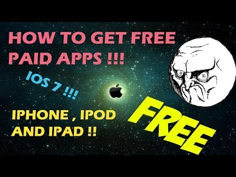 How To Ge Free Paid Apps On IPod ,IPad and IPhone !! **NEW** 2014 !! How To Get 25PP PP25