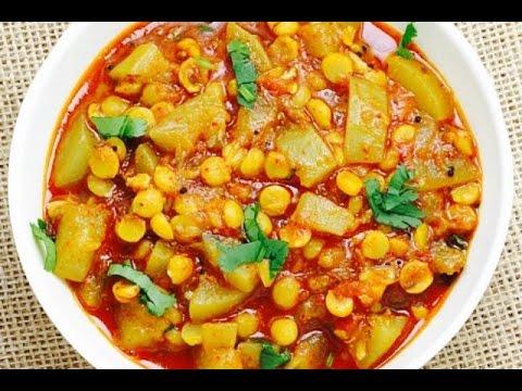 Lauki Chana Dal Sabzi || Bottle Gourd Chana dal Curry || लौकी चना दाल करी
