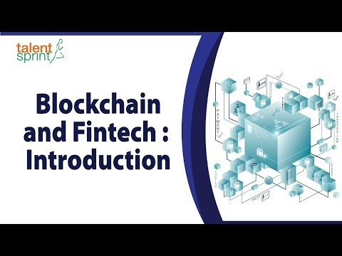 Blockchain and Fintech : Introduction