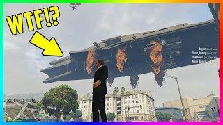 WARNING! - GTA ONLINE IS NOT SAFE! - MODDERS CAN NOW SPAWN THIS IN THE GAME...(GTA 5)