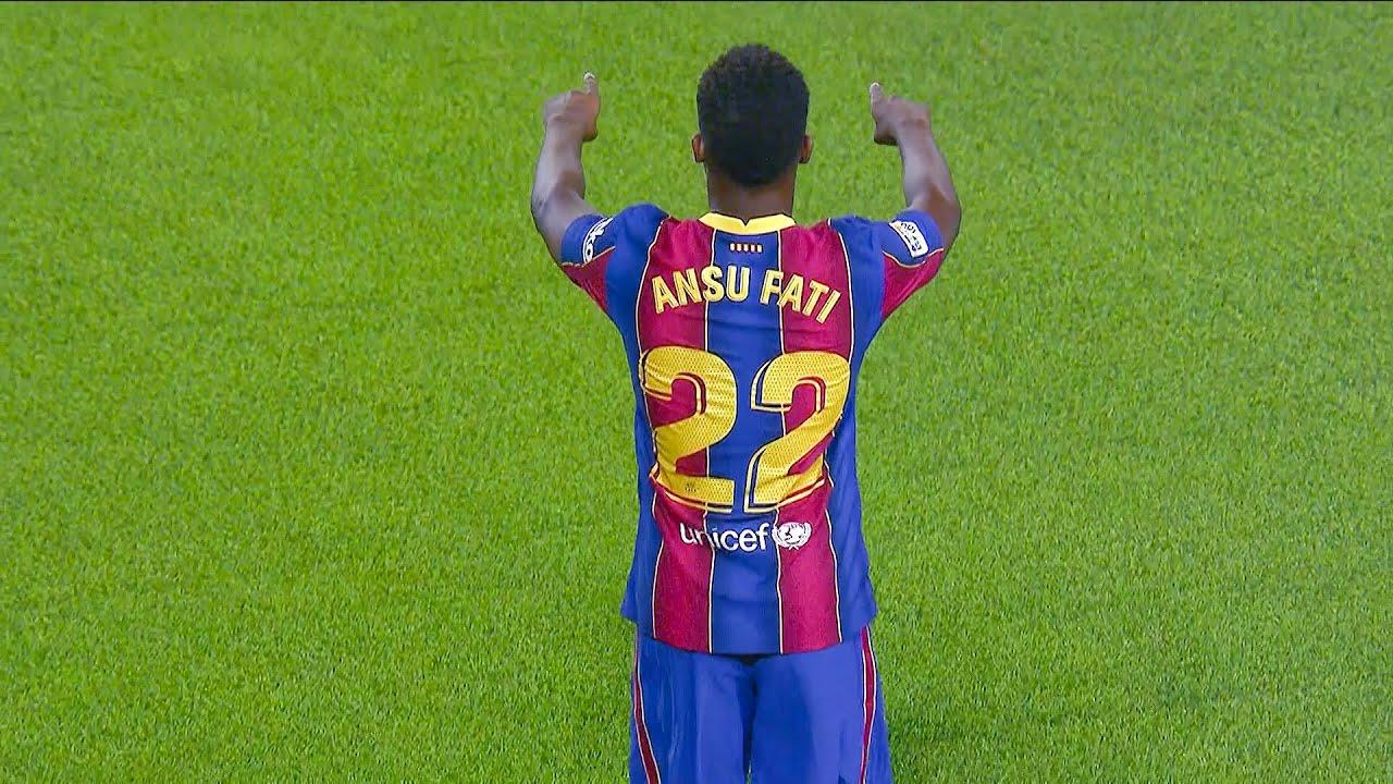 Ansu Fati - All 16 Goals & Assists for Barcelona