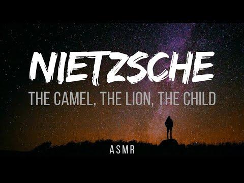 ASMR | Nietzsche's Myth Zarathustra: The Three Metamorphoses (Philosophy of Self-transformation)