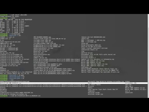How to make a bootable USB stick using Linux Terminal