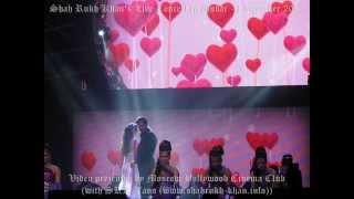 SRK @iamsrk Live Concert in Dubai with Madhuri, Deepika & Jacqueline - 1 december 2013 (part 3)