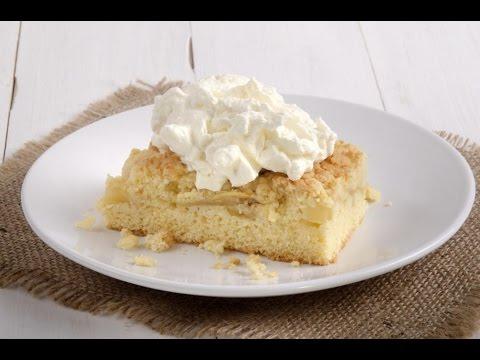 Apple crumble cake recipe easy