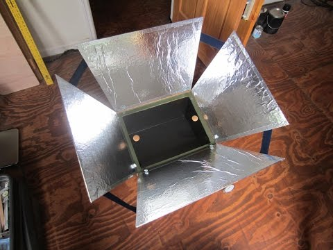 How to Build a Solar Oven Using Natural Materials.