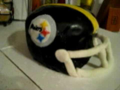 Steelers Helmet Cake