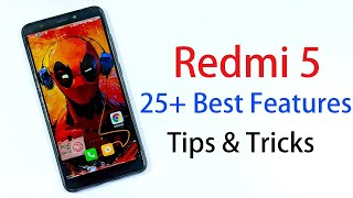 25 Best Features of Redmi 5 and Tips and Tricks