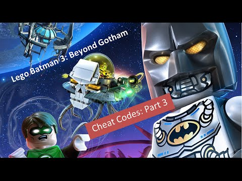 Lego Batman 3: Beyond Gotham Cheat Codes part 3 of 4 Xbox 360