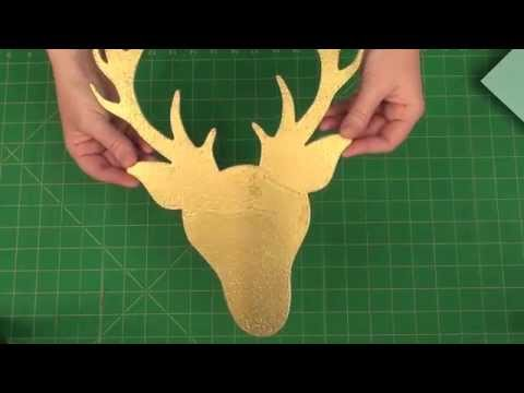 Create Deer Head Home Decor and other items