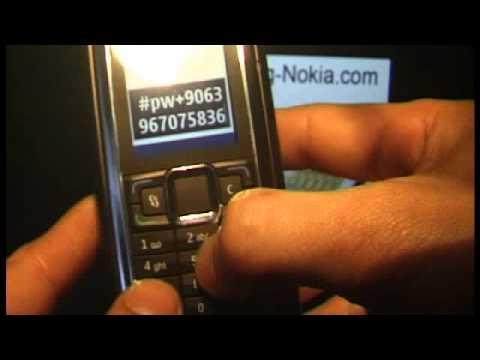 HOW UNLOCK NOKIA Communicator E90 www.SIM-UNLOCK.me HANDY ENTSPERREN Beschränkungscode