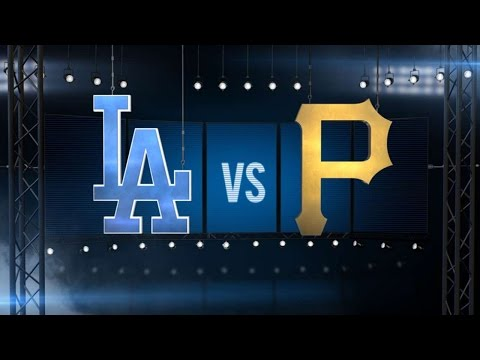 6/24/16: Pirates hold off Dodgers to snap losing skid