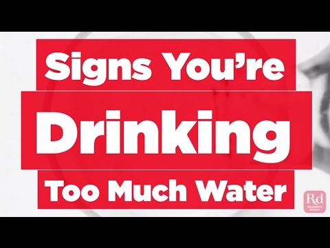 Signs Youre Drinking Too Much Water