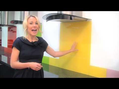 Yellow - Colour Toughened Glass Splashback
