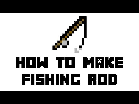 Minecraft Survival: How to Make Fishing Rod