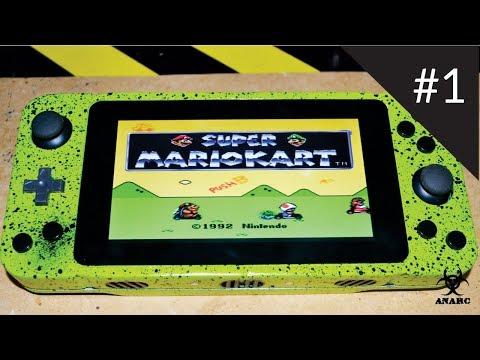 Projeto Anarc: Console de Games Portátil com Arduino e Raspberry Pi
