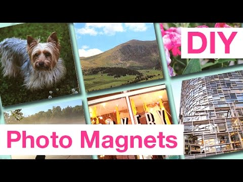 DIY Quick & Easy Photo Magnets | ArtsyPaints