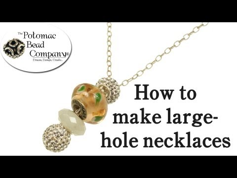 Pandora Style Necklace Tutorial