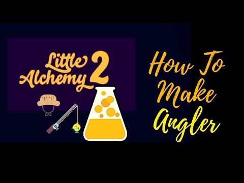 Little Alchemy 2-How To Make Angler Cheats & Hints