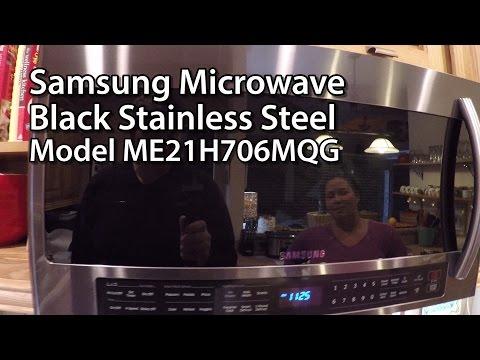 Samsung Microwave - Black Stainless Steel