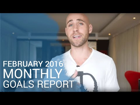 My February 2016 Monthly Goals Report