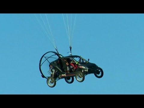 Flying car, nakatawid mula France papuntang England