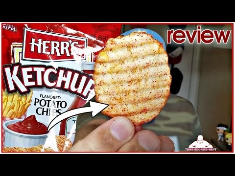 HERR'S® | KETCHUP POTATO CHIP REVIEW | MID WEEK SNACKS