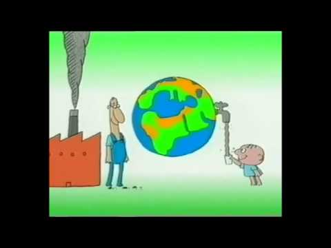 Environmental pollution Animation   YouTube