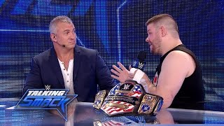 Did Kevin Owens go too far in attacking Chris Jericho?: WWE Talking Smack, May 2, 2017 (WWE Network)