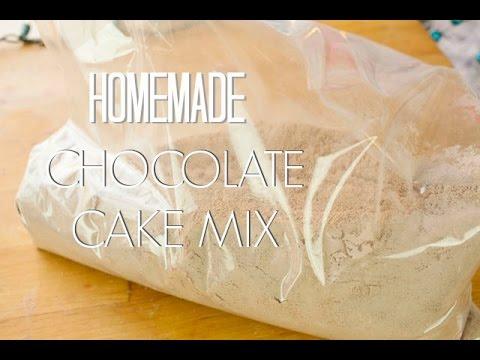 Homemade Chocolate Cake Mix | Simply Bakings