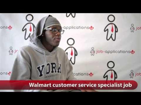 Walmart Customer Service Specialist Job