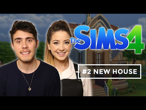 Moving Into Our New House | Zalfie Sims 4 #2