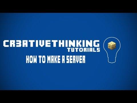 How to Make a Minecraft Server 1.4.5 EASY [Windows 7, Vista, 2000, 98]