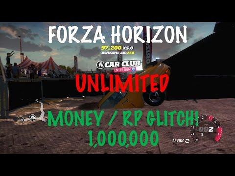 Forza Horizon UNLIMITED MONEY/RP Glitch 2016