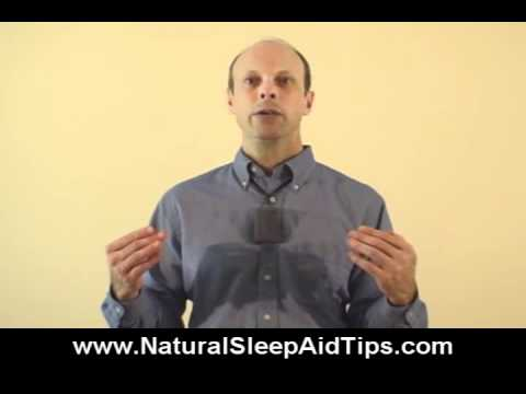 Natural Sleep Aid Tip - Hot Baths and Showers