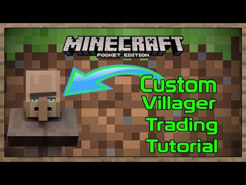 Minecraft PE: How to Mod Villagers [Tutorial]