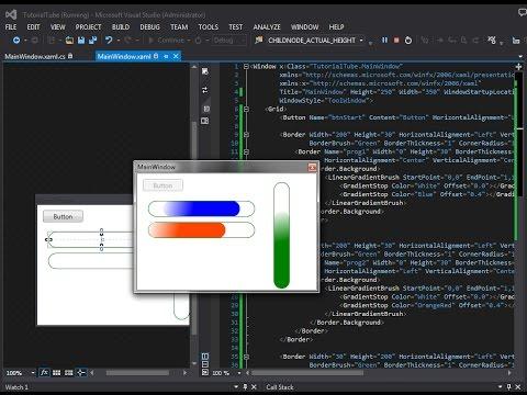C# WPF - Create Custom ProgressBar