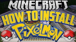 How to Install Pixelmon 5 0 0 (Minecraft 1 10 2) With