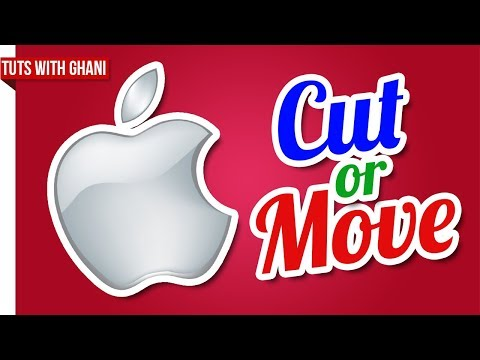 How to Cut/Move Files in a Mac OS X | Full Tutorial