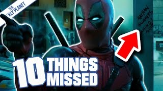 DEADPOOL 2 No Good Deed Teaser Trailer - Things Missed & Easter Eggs (Sort Of I Guess?)