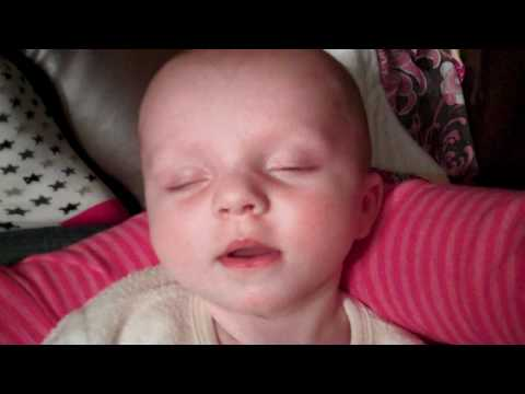baby falling asleep after eating