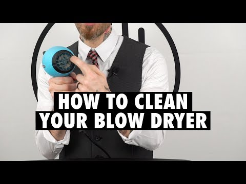 Love Thy Tool: How To Clean & Store Your Blow Dryer