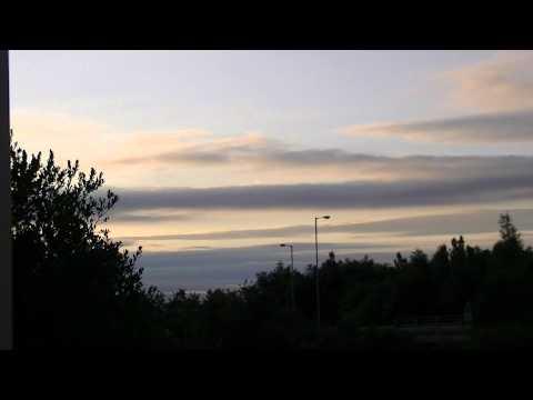 Dusk Over Portadown (time lapse)