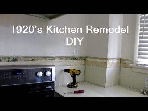 DIY Kitchen Renovation  - Demo Day!   DIY Distress